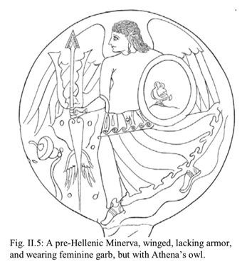 Cover of The Four Faces of the Roman Goddess: A New Theory for Categorizing the Divine Feminine in Roman Mythology, William Price Jr.